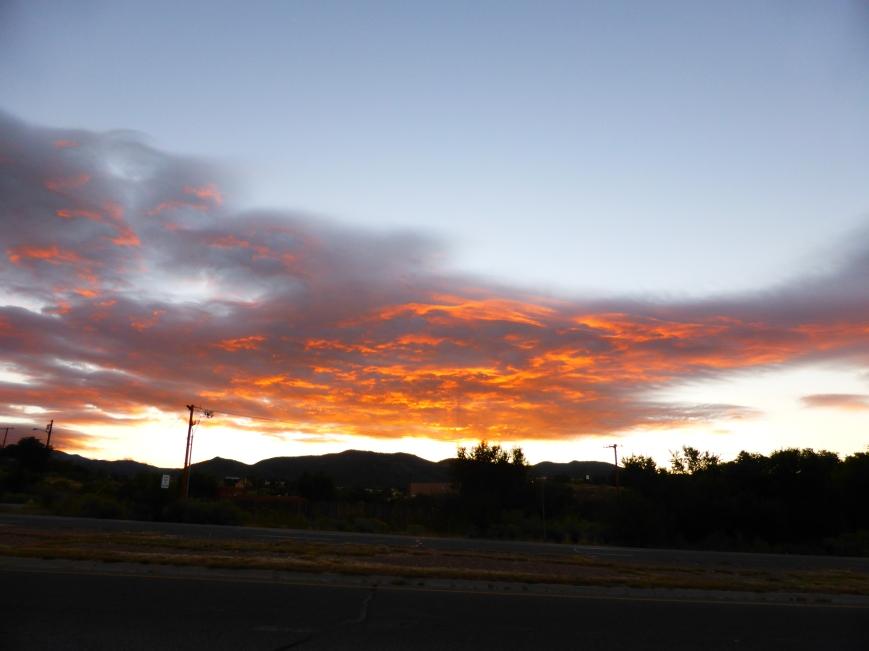 Morning Blaze Over Santa Fe