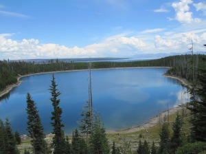 West Thumb of Yellowstone Lake