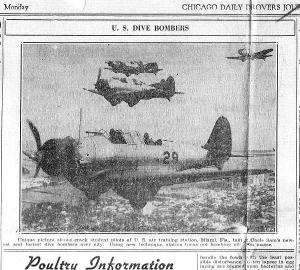 Dive Bombers Daily Drover