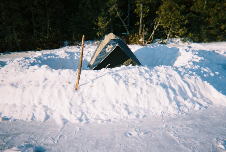 Intrepid's Accommodations in the Boundary Waters near Canadian Border  (NOT where warm waters halt)