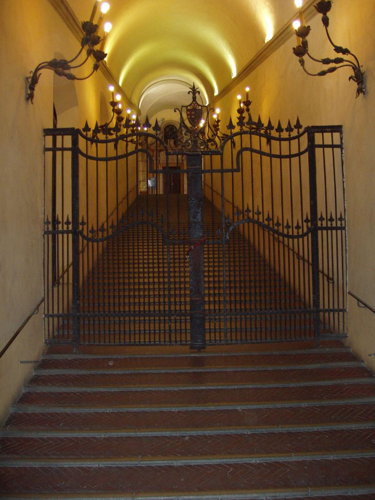 Stairway for horse and rider