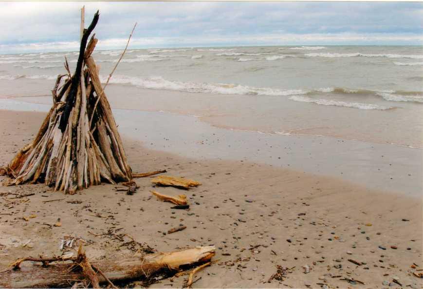 Driftwood Teepee