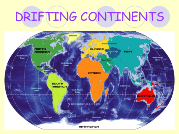 7 Continents - Drifting Continents