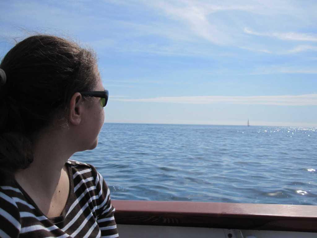 Intrepid on the Atlantic