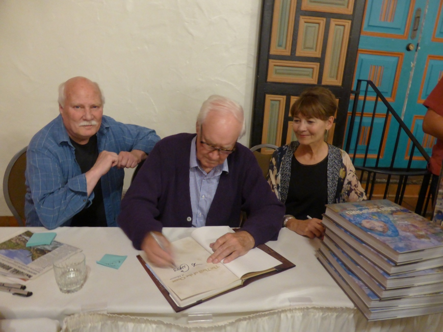 Book Signing at La Fonda