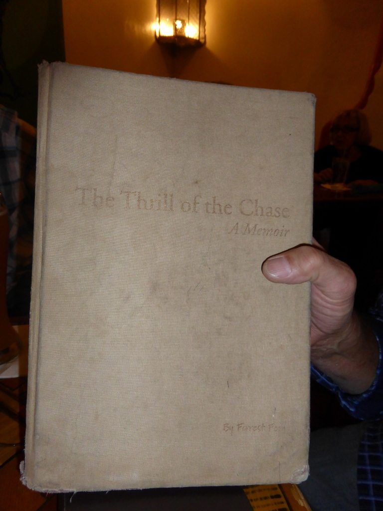 Randy's well thumbed copy of The Thrill of the Chase
